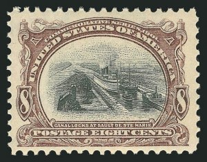 Sale Number 838, Lot Number 672, Pan-American Issue, including inverts8c Pan-American (298), 8c Pan-American (298)