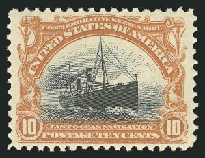 Sale Number 838, Lot Number 675, Pan-American Issue, including inverts10c Pan-American (299), 10c Pan-American (299)