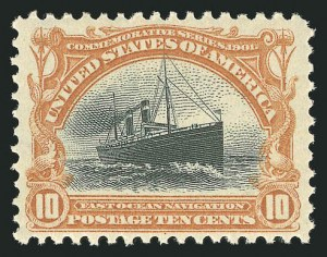 Sale Number 838, Lot Number 676, Pan-American Issue, including inverts10c Pan-American (299), 10c Pan-American (299)