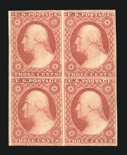 Sale Number 838, Lot Number 84, 3c 1851 Issue3c Dull Red (11), 3c Dull Red (11)