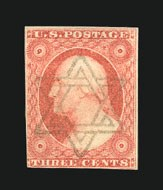 Sale Number 838, Lot Number 90, 3c 1851 Issue3c Dull Red (11), 3c Dull Red (11)