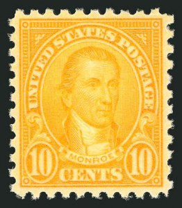Sale Number 838, Lot Number 902, 1922 and Later Issues10c Orange, Perf 10 (591), 10c Orange, Perf 10 (591)