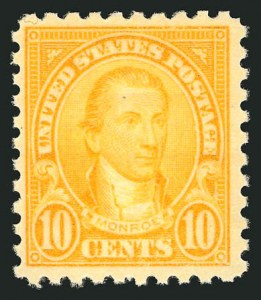 Sale Number 838, Lot Number 903, 1922 and Later Issues10c Orange, Perf 10 (591), 10c Orange, Perf 10 (591)