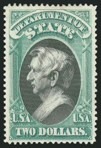 Sale Number 838, Lot Number 983, Officials$2.00 State (O68), $2.00 State (O68)