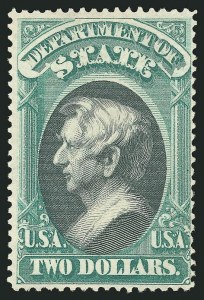 Sale Number 838, Lot Number 984, Officials$2.00 State (O68), $2.00 State (O68)