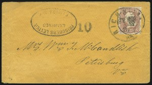 Sale Number 840, Lot Number 549, Prisoners MailCamp Elmira N.Y, Camp Elmira N.Y
