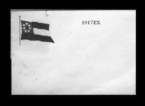 Sale Number 841, Lot Number 1017, Confederate StatesConfederate 7-Star Flag Patriotic Cover, Confederate 7-Star Flag Patriotic Cover