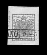 Sale Number 841, Lot Number 1900, Lombardy-Venetia (Coat of Arms)1850, 45c Blue, Ty. I (6a), 1850, 45c Blue, Ty. I (6a)