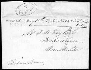 Sale Number 845, Lot Number 536, Postal History by StateBOSTON, BOSTON