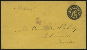Sale Number 846, Lot Number 2446, Confederate StatesPine Level Ala. Paid 5, Pine Level Ala. Paid 5
