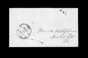 Sale Number 850, Lot Number 5145, Handstamped Paid and Due Markings (Georgia)Bowdon Ga. Jan. 12, 1862, Bowdon Ga. Jan. 12, 1862