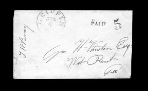 Sale Number 850, Lot Number 5177, Handstamped Paid and Due Markings (Georgia)Griffin Ga. Jul. 4, Griffin Ga. Jul. 4