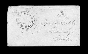 Sale Number 850, Lot Number 5227, Handstamped Paid and Due Markings (Georgia)West Point Ga. ? Nov, West Point Ga. ? Nov