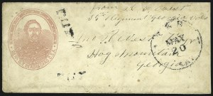 Sale Number 850, Lot Number 5875, Stampless Patriotic Covers (by state)Gen. G. T. Beauregard, Gen. G. T. Beauregard