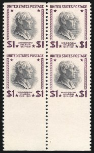 Sale Number 852, Lot Number 1375, 1922 and Later Issues, including Modern Errors$1.00 Presidential, 1938 Printing, Imperforate Horizontally (832a), $1.00 Presidential, 1938 Printing, Imperforate Horizontally (832a)