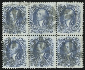 Sale Number 863, Lot Number 321, 1861-66 Issue (Scott 72 to 78a)90c Blue (72), 90c Blue (72)
