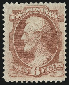 Sale Number 863, Lot Number 425, 1870-88 Bank Note Issues (Scott 134 to 144)6c Carmine, Grill (137), 6c Carmine, Grill (137)