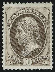 Sale Number 863, Lot Number 428, 1870-88 Bank Note Issues (Scott 134 to 144)10c Brown, Double Grill (139 var), 10c Brown, Double Grill (139 var)