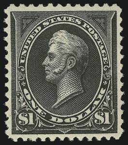 Sale Number 863, Lot Number 519, 1894-98 Bureau Issues (Scott 255c to 282C)$1.00 Black, Ty. II (261A), $1.00 Black, Ty. II (261A)