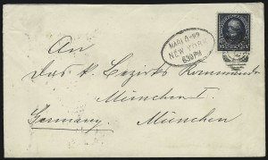 Sale Number 863, Lot Number 525, 1894-98 Bureau Issues (Scott 255c to 282C)15c Dark Blue (274), 15c Dark Blue (274)