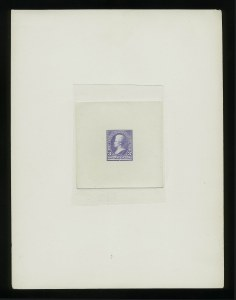 Sale Number 867, Lot Number 1264, 1894-95 3-Cent Bureau Issue3c Ultramarine, Large Die Trial Color Proof on India (253TC1), 3c Ultramarine, Large Die Trial Color Proof on India (253TC1)