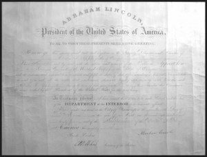 Sale Number 869, Lot Number 3002, Historical Documents and Free FranksAbraham Lincoln, Abraham Lincoln