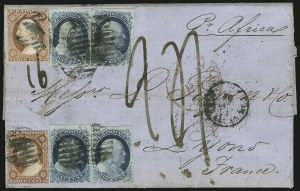 Sale Number 869, Lot Number 3019, 1851-56 Issue1c Blue, Ty. Ib (5A), 1c Blue, Ty. Ib (5A)