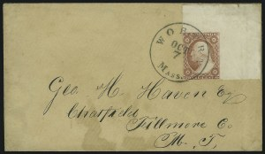 Sale Number 869, Lot Number 3025, 1851-56 Issue3c Dull Red (11), 3c Dull Red (11)