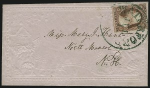 Sale Number 869, Lot Number 3026, 1851-56 Issue3c Dull Red (11), 3c Dull Red (11)