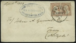 Sale Number 869, Lot Number 3028, 1851-56 Issue3c Dull Red (11), 3c Dull Red (11)