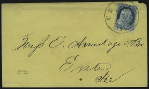Sale Number 869, Lot Number 3038, 1857-60 Issue1c Blue, Ty. III, Position 99R2 (21 var), 1c Blue, Ty. III, Position 99R2 (21 var)