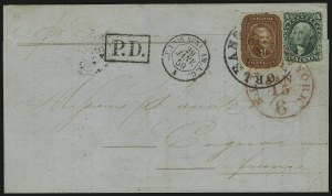 Sale Number 869, Lot Number 3039, 1857-60 Issue5c Indian Red (28A), 5c Indian Red (28A)