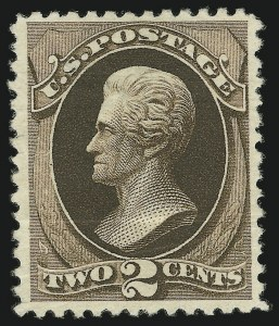 Sale Number 869, Lot Number 3147, 1880 American Bank Note Co. Special Printing2c Black Brown, Special Printing (193), 2c Black Brown, Special Printing (193)