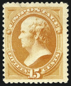Sale Number 869, Lot Number 3150, 1880 American Bank Note Co. Special Printing15c Orange, Special Printing (199), 15c Orange, Special Printing (199)