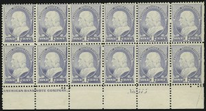 Sale Number 869, Lot Number 3158, 1870-88 Bank Note Issues (Scott 209-218)1c Ultramarine (212), 1c Ultramarine (212)