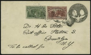 Sale Number 869, Lot Number 3169, 1893 Columbian Issue$2.00, $3.00 Columbian (242, 243), $2.00, $3.00 Columbian (242, 243)