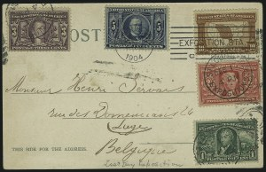 Sale Number 869, Lot Number 3197, Louisiana Purchase1c-10c Louisiana Purchase (323-327), 1c-10c Louisiana Purchase (323-327)
