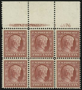 Sale Number 869, Lot Number 3208, 1908-10 Issue including Bluish Paper2c Lincoln, Bluish (369), 2c Lincoln, Bluish (369)