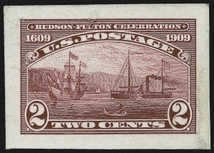 Sale Number 869, Lot Number 3213, The Award-Winning Donald Bianchi Hudson-Fulton Collection2c Hudson-Fulton, Small Die Proof on India (372P2), 2c Hudson-Fulton, Small Die Proof on India (372P2)