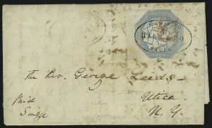 Sale Number 869, Lot Number 3316, Carriers and LocalsHale & Co., (5c) Blue, Street Address Omitted (75L5), Hale & Co., (5c) Blue, Street Address Omitted (75L5)