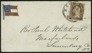 Sale Number 869, Lot Number 3337, Confederate States3c Dull Red, Ty. II (26), 3c Dull Red, Ty. II (26)