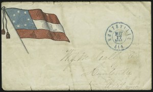 Sale Number 869, Lot Number 3341, Confederate StatesHuntsville Ala. May 17, 1861, Huntsville Ala. May 17, 1861