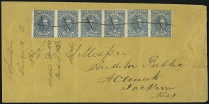 Sale Number 869, Lot Number 3362, Confederate States General Issues10c Dark Blue, Hoyer & Ludwig (2b), 10c Dark Blue, Hoyer & Ludwig (2b)