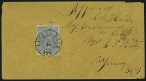 Sale Number 869, Lot Number 3363, Confederate States General Issues10c Blue, Paterson (2), 10c Blue, Paterson (2)