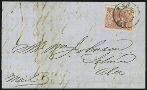 Sale Number 869, Lot Number 3368, Confederate States General Issues10c Carmine (5a), 10c Carmine (5a)