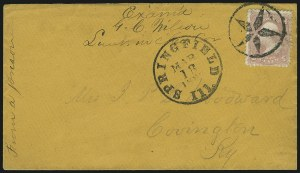 Sale Number 869, Lot Number 3387, Confederate States PrisonersCamp Butler Ill, Camp Butler Ill