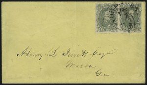 Sale Number 870, Lot Number 1284, General Issue Stamps and Varieties5c Olive Green, Stone 1 (1c), 5c Olive Green, Stone 1 (1c)