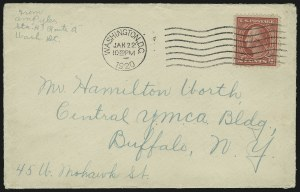 Sale Number 875, Lot Number 1056, Pan-American and Later Issues2c Deep Rose, Ty. Ia (500), 2c Deep Rose, Ty. Ia (500)