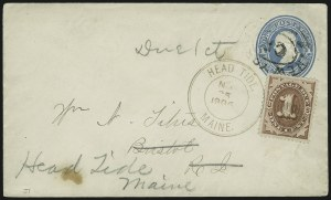 Sale Number 875, Lot Number 1122, Back-of-Book Issues1c Brown (J1), 1c Brown (J1)