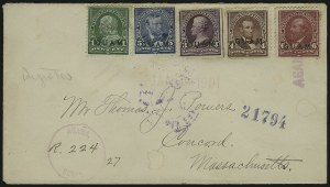 Sale Number 875, Lot Number 1230, Guam1899, 1c-6c Regular Issue (1, 3-6), 1899, 1c-6c Regular Issue (1, 3-6)